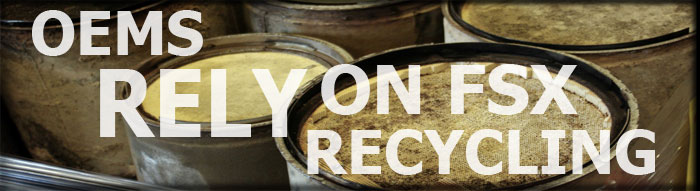OEMs rely on FSX Recycling